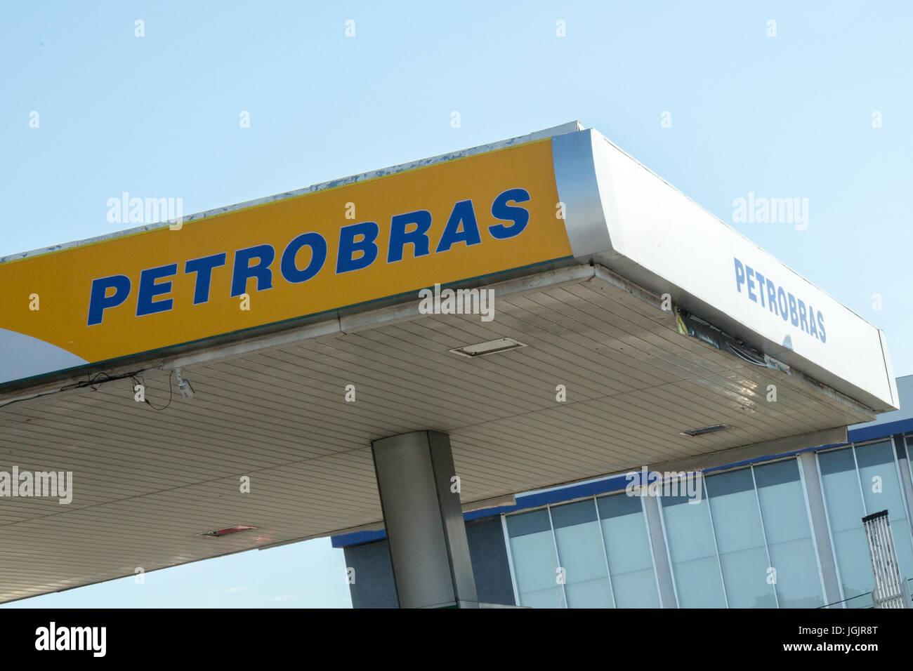Asuncion, Paraguay. 7th Jul, 2017. Brazilian state-controlled oil company Petroleo Brasileiro SA (Petrobras) disclosed Stock Photo