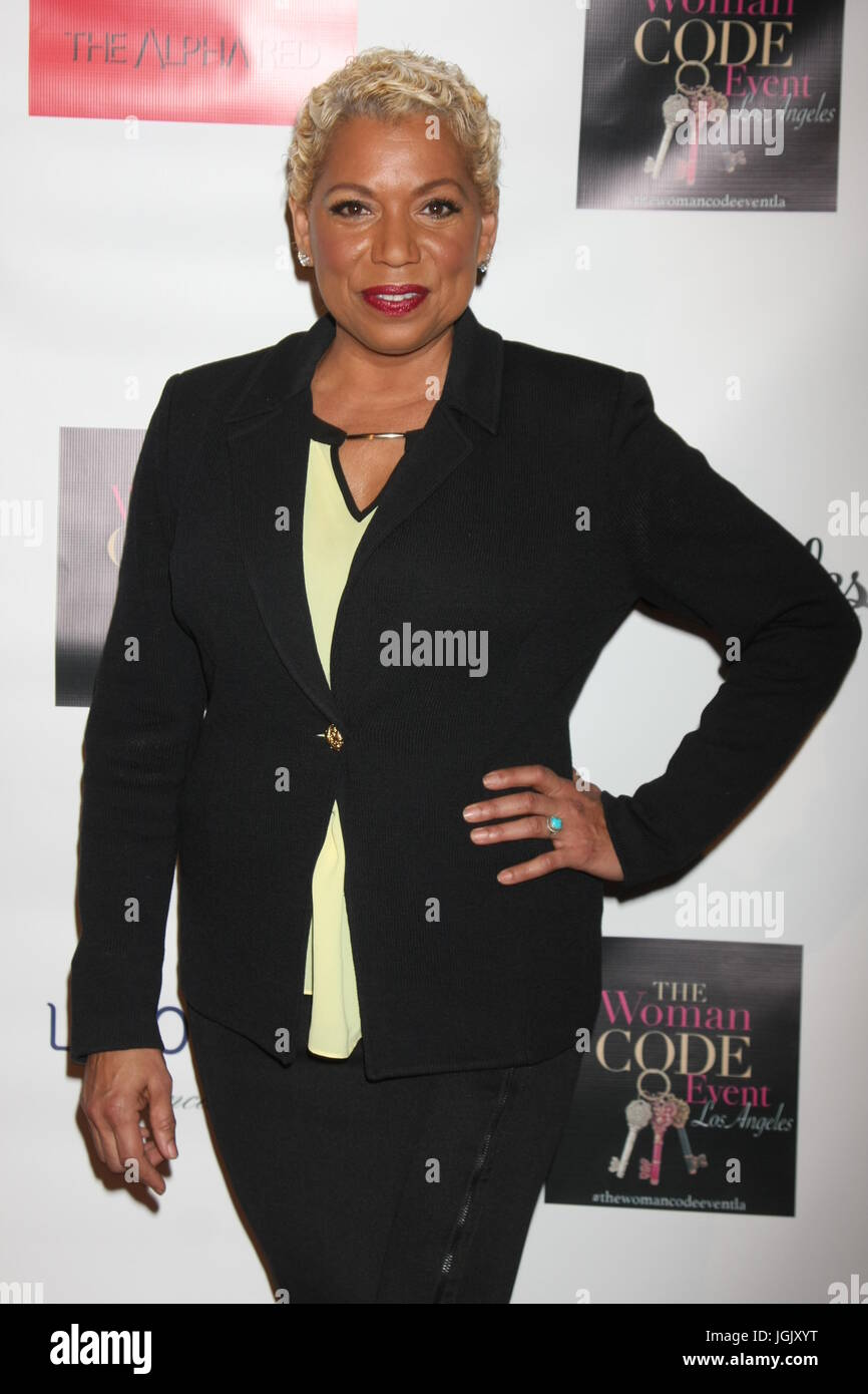 Los Angeles, CA, USA. 29th Jan, 2016. LOS ANGELES - JAN 29: Rolanda Watts at the An Evening with The Woman Code - Stock Image
