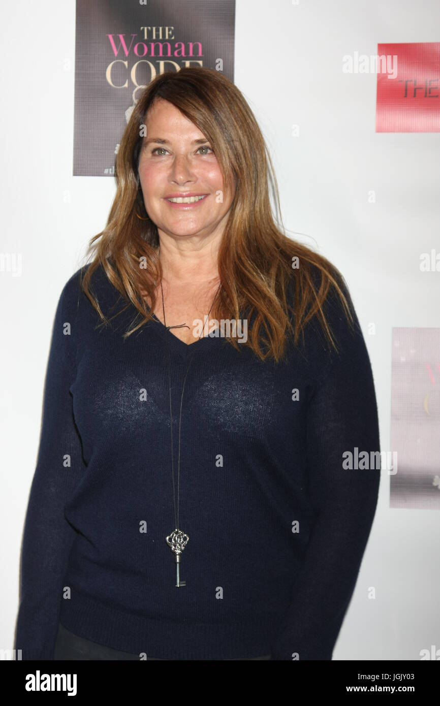Los Angeles, CA, USA. 29th Jan, 2016. LOS ANGELES - JAN 29: Lorraine Bracco at the An Evening with The Woman Code - Stock Image
