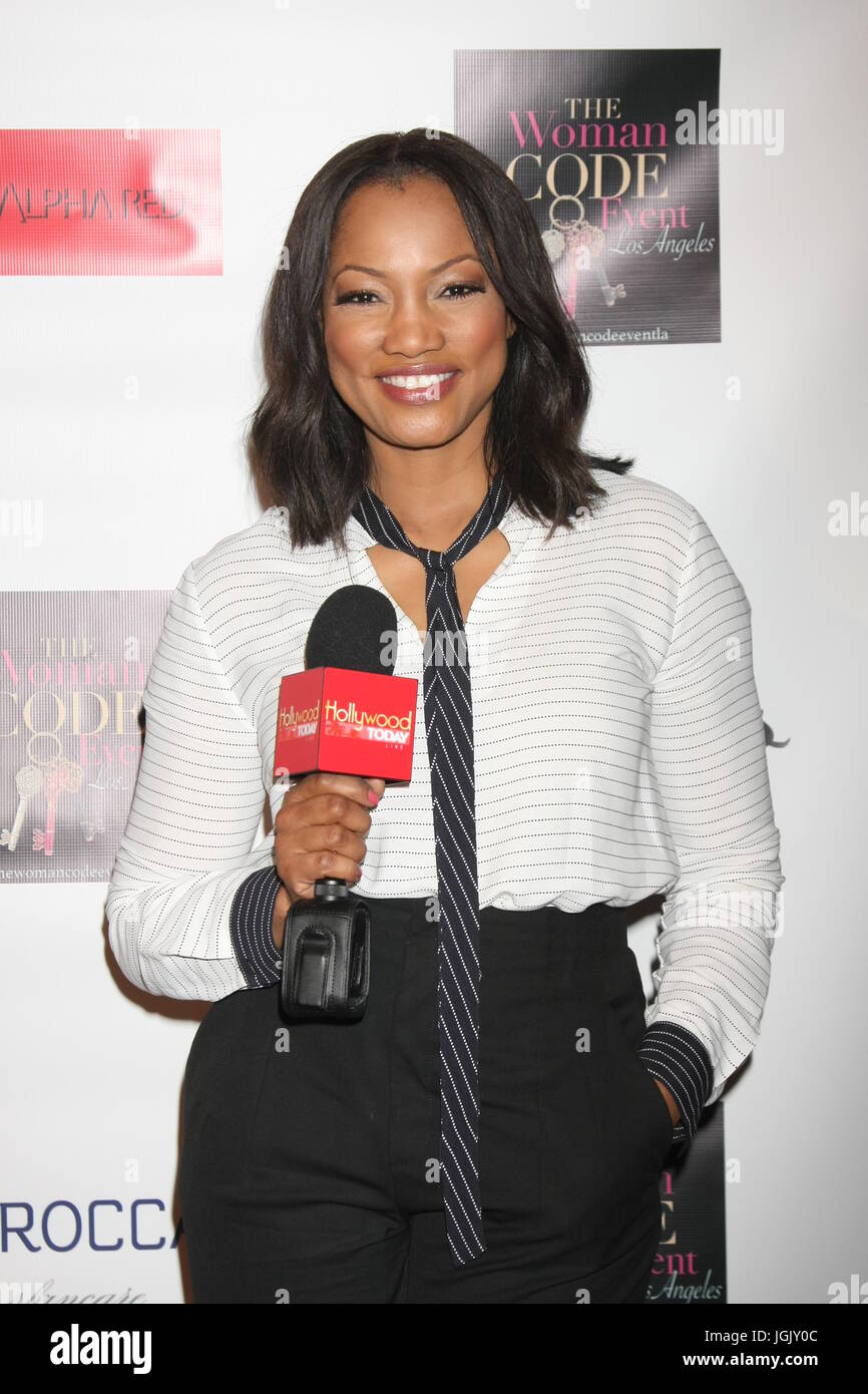 Los Angeles, CA, USA. 29th Jan, 2016. LOS ANGELES - JAN 29: Garcelle Beauvais at the An Evening with The Woman Code - Stock Image
