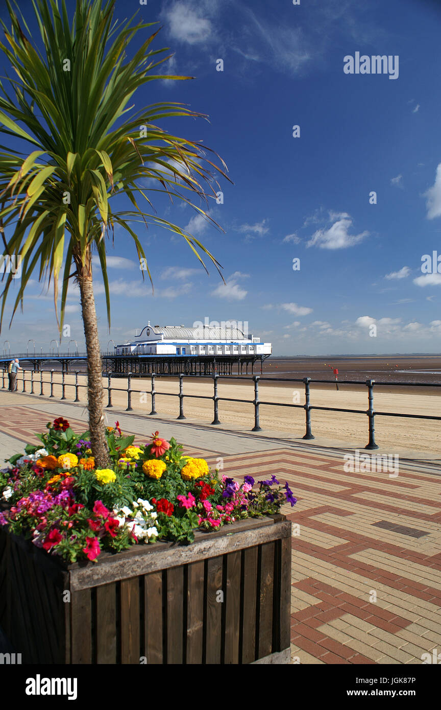 Lincolnshire coastline, cleethorpes - Stock Image