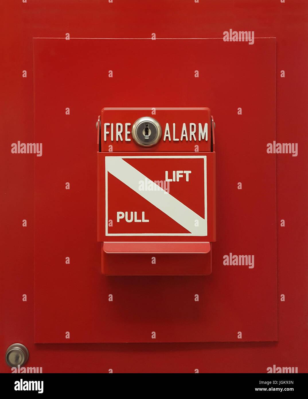 safty fire alarm lift pull box manual fire alarm activation pull
