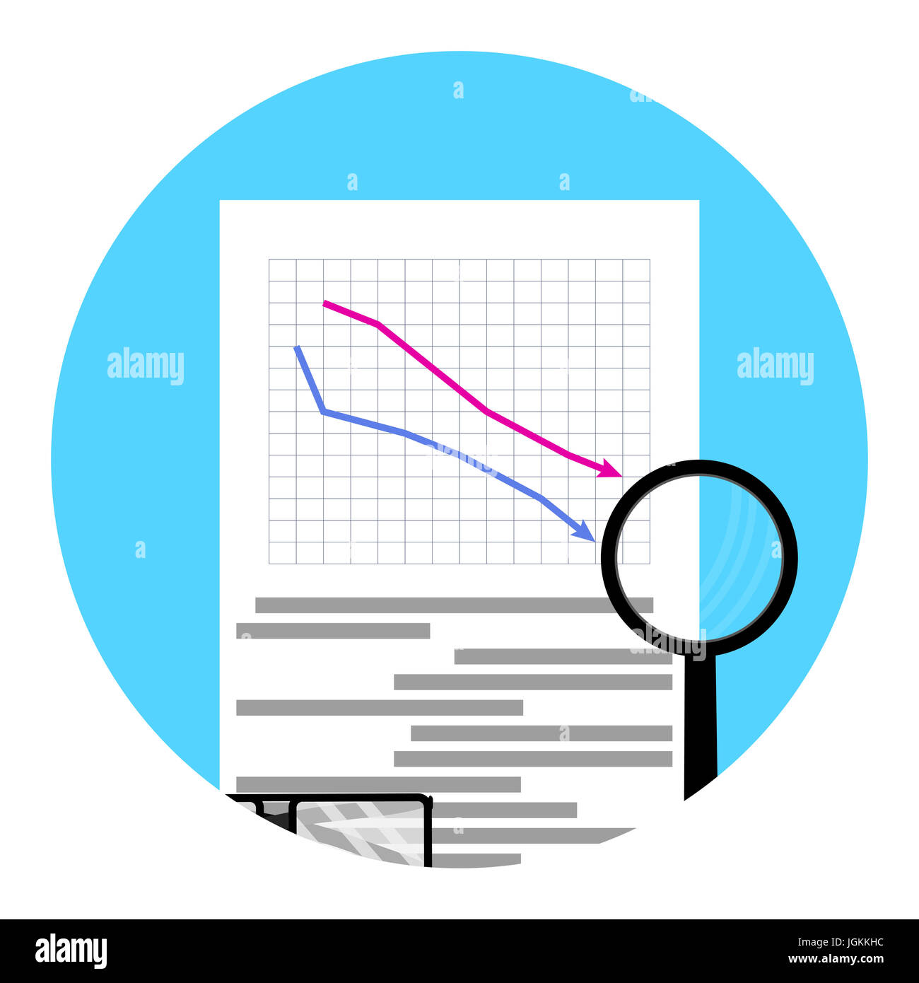 Illustration failure diagram auto electrical wiring diagram icon shares fall vector crisis stock down and failure diagram rh alamy com elementary diagram how photosynthesis diagram ccuart Gallery