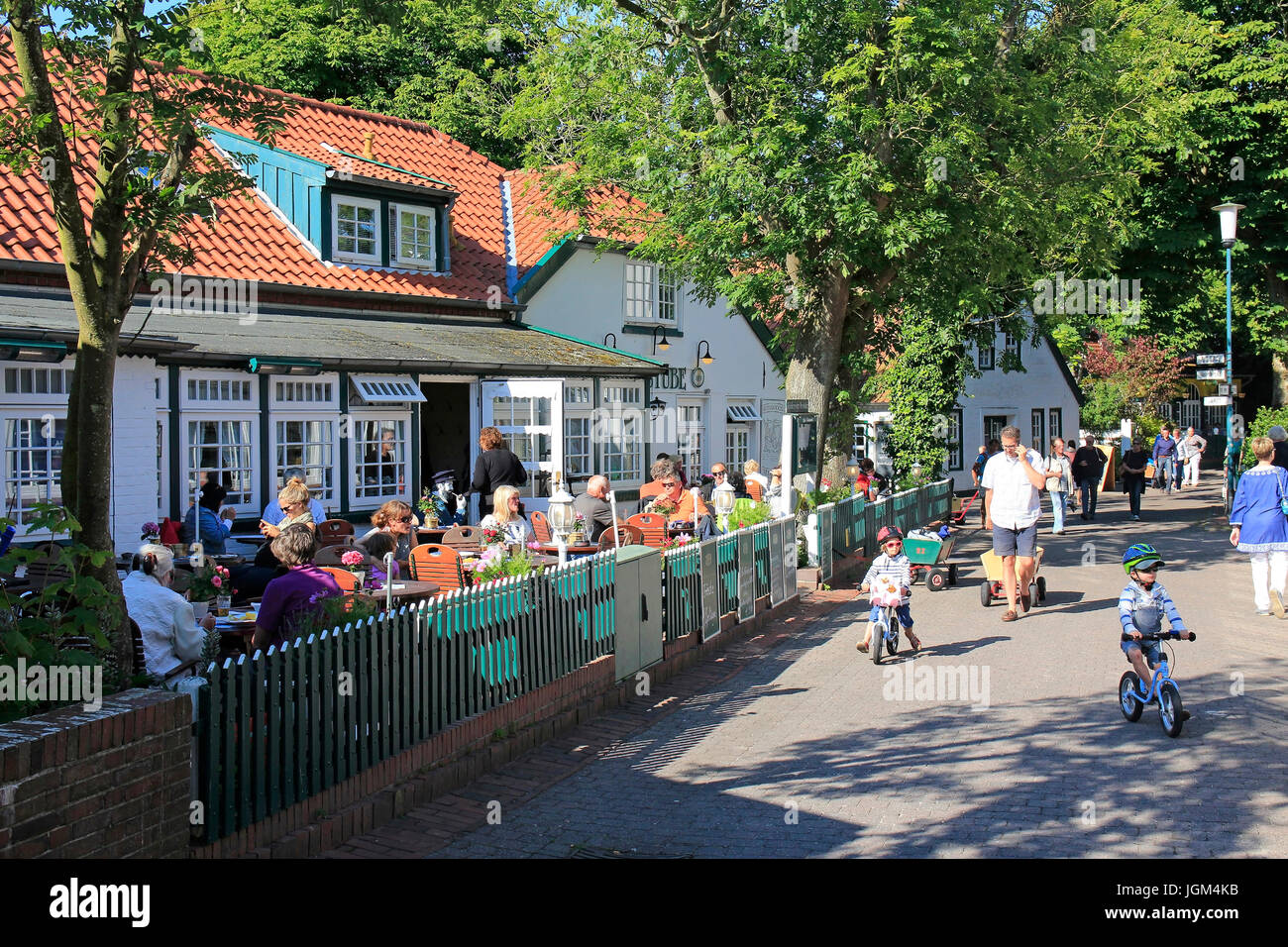 Europe, the Federal Republic of Germany, Lower Saxony, East Friesland, East Frisian, island, islands, Spiekeroog, Stock Photo