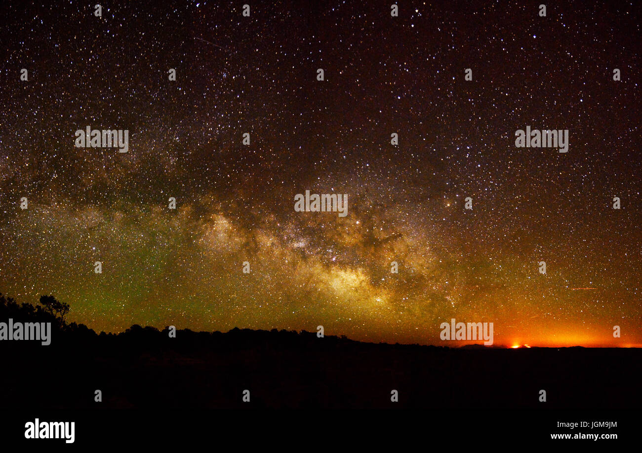 Cape Royal Stars and Fire - Stock Image