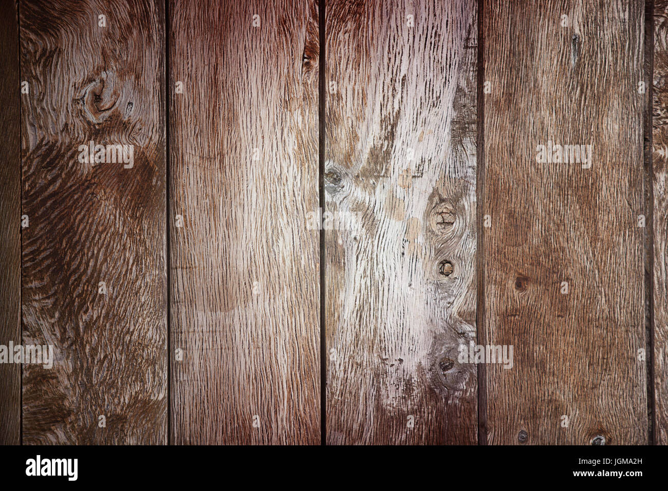 wood planks, wooden plank texture or background - Stock Image