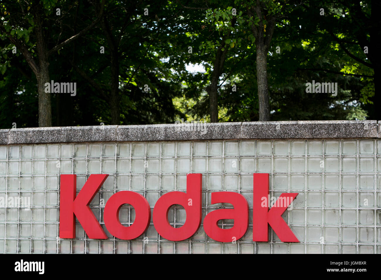 A Logo Sign Outside Of A Facility Occupied By The Eastman Kodak Stock Photo Alamy