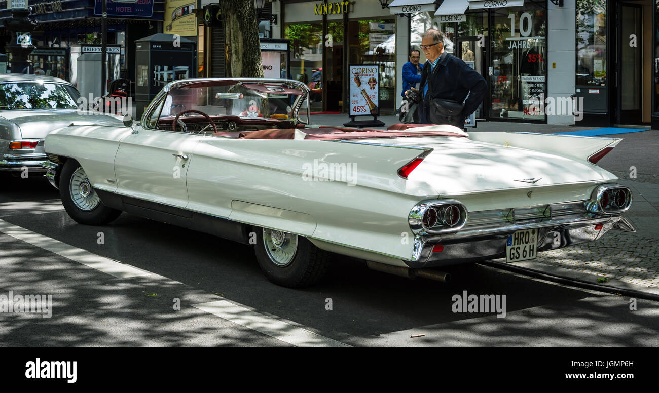 The 1961 Cadillac Stock Photos Images Alamy Sedan Deville Berlin June 17 2017 Full Size Luxury Car Series 62 Convertible
