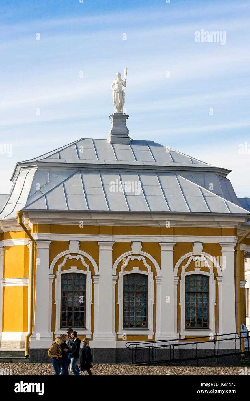 29.06.2017 ,Saint Petersburg , Russia . Peter and Paul Fortress - a fortress in St. Petersburg, located on the Hare - Stock Image