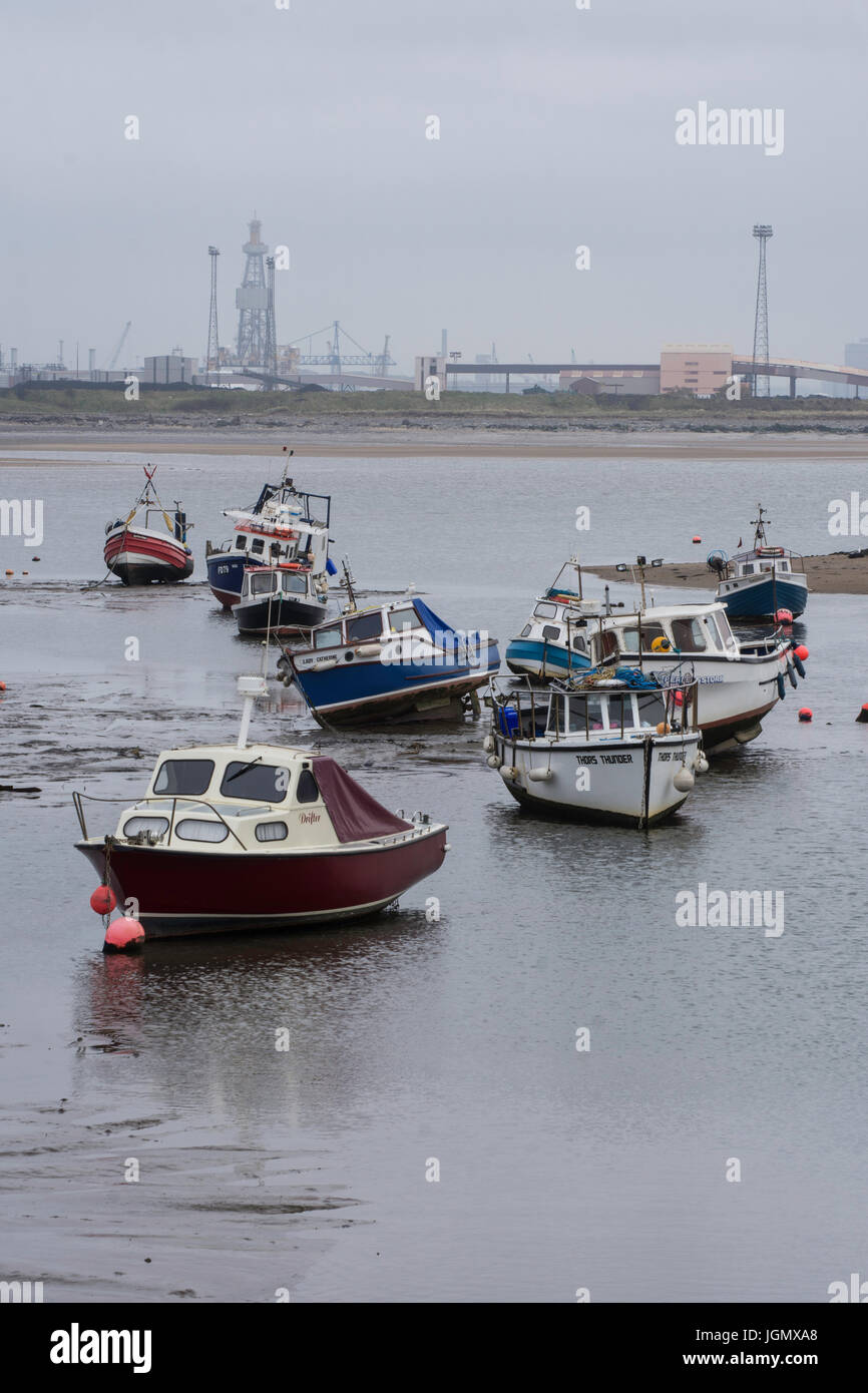 Paddys Hole, South Gare Teesside - Stock Image