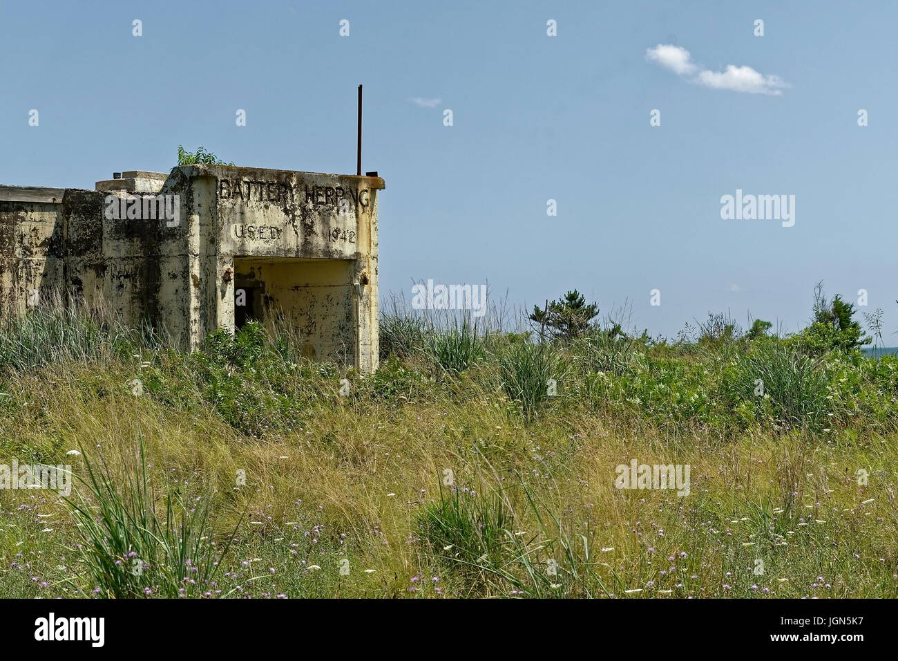 Fort Miles, Delaware - Stock Image