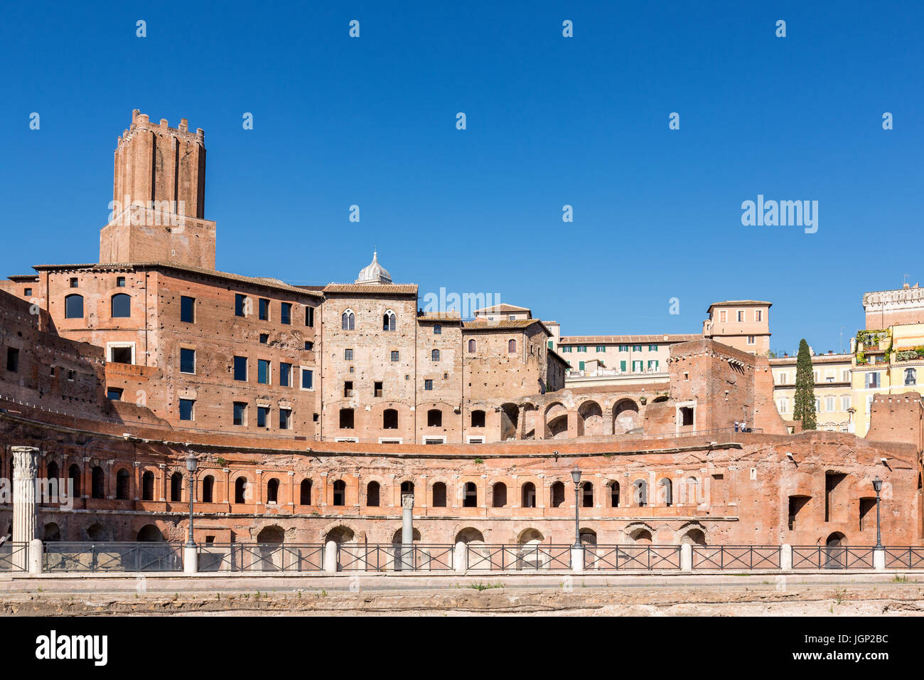 Archbasilica of St. John Lateran (Arcibasilica Papale di San Giovanni in Laterano), Rome, Lazio, Italy - Stock Image