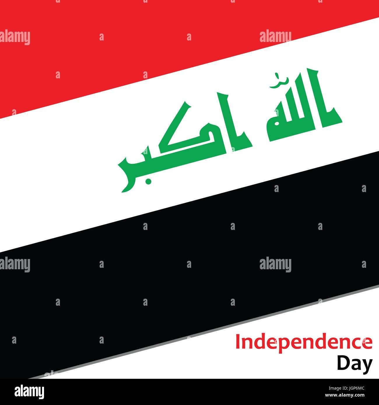 Irak independence day - Stock Image