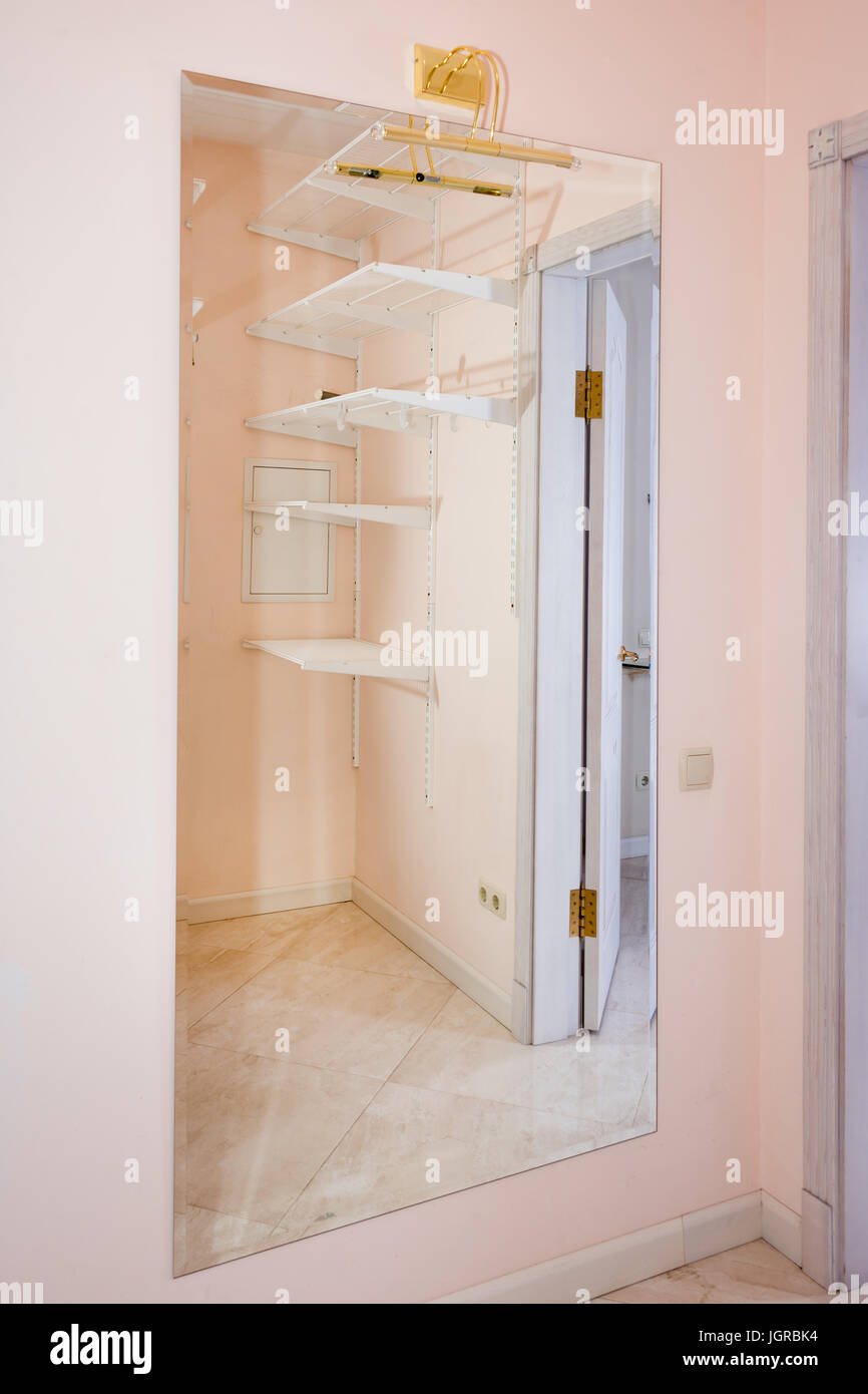 empty walk in closet side empty walkin closet with shelves dressing room interior elements elements