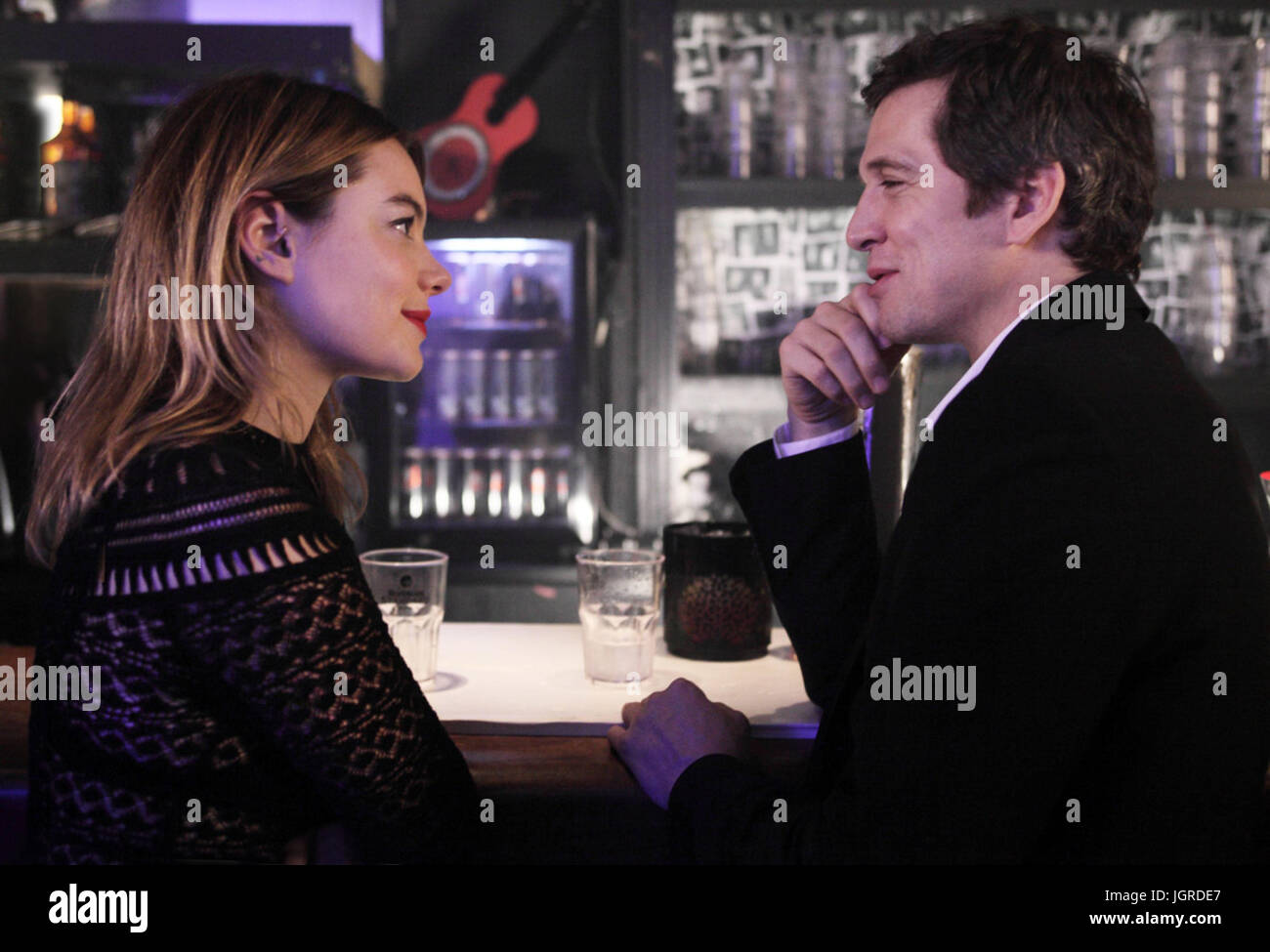 ROCK'N ROLL (2017)  CAMILLE ROWE  GUILLAUME CANET  GUILLAUME CANET (DIR)  PATHE/MOVIESTORE COLLECTION LTD - Stock Image