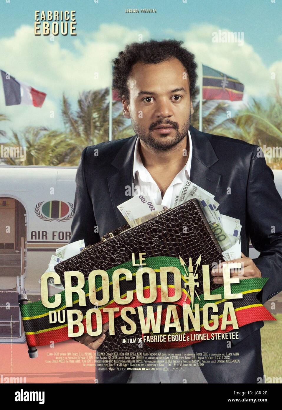 crocodile du botswanga