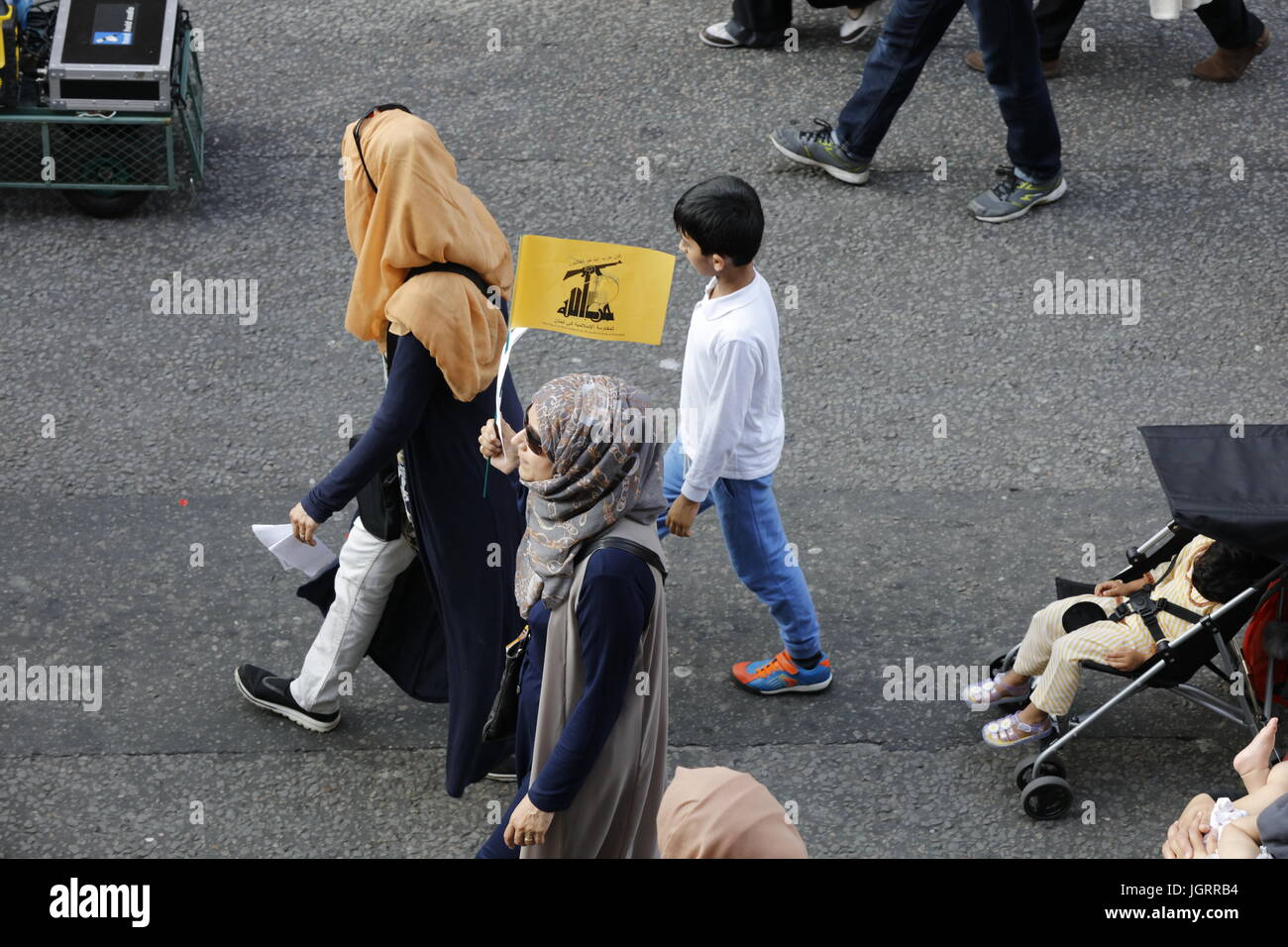 Al Quds Day March in Central London - Stock Image