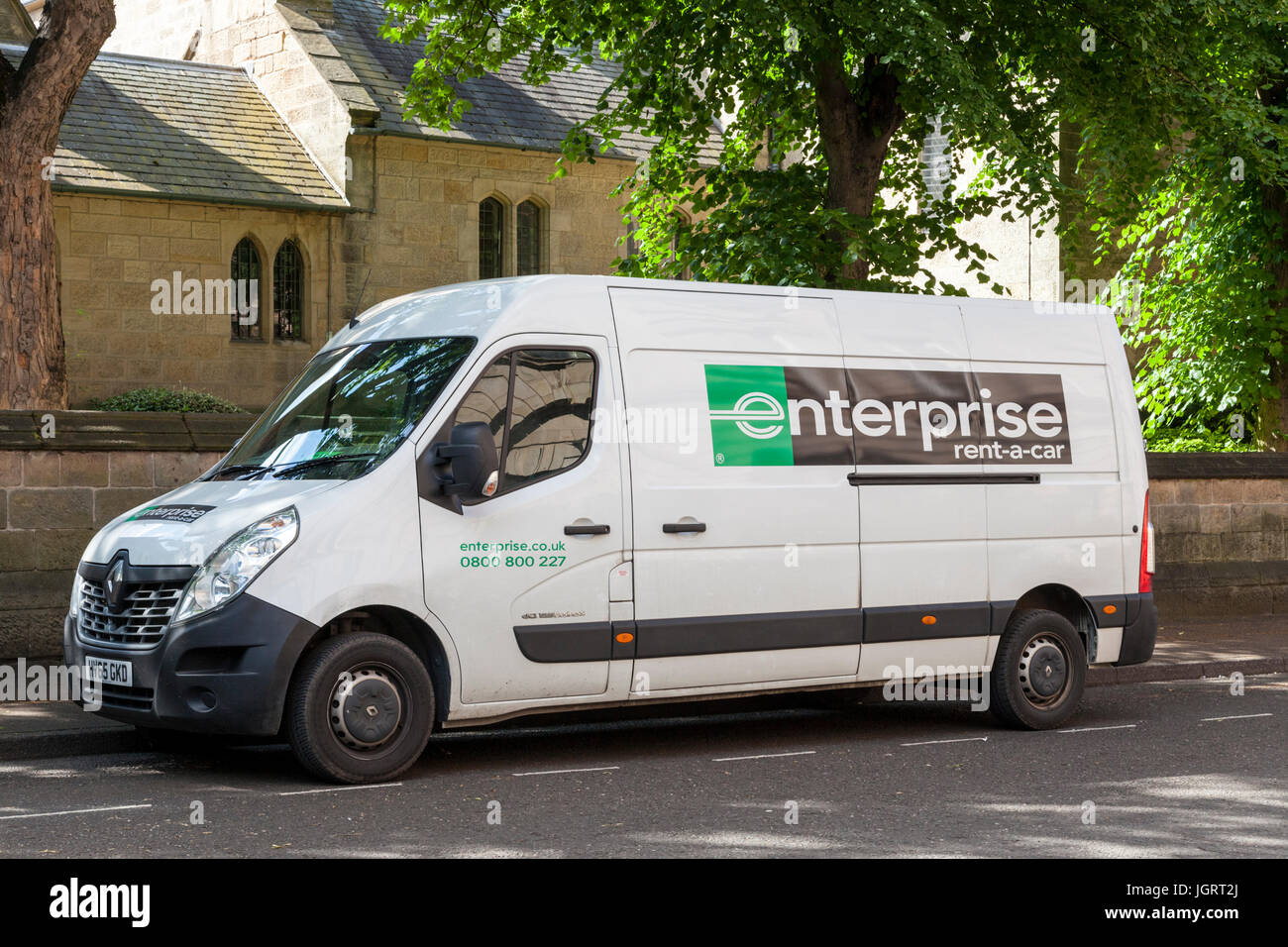 Enterprise Van Rental >> Van Hire By Enterprise Rent A Car Stock Photo 148041226 Alamy