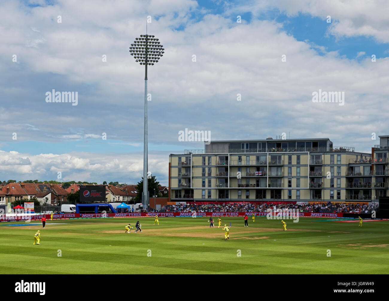 Women's International Cricket at Bristol, Gloucestershire, England UK Stock Photo