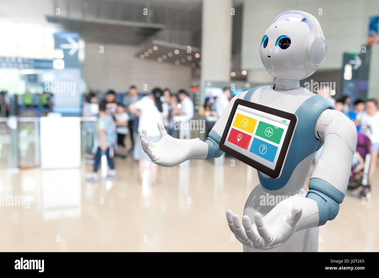 Robotics Trends Technology Business Concept Autonomous Personal