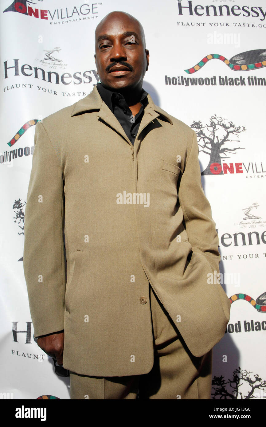 Actor Clifton Powell attends 9th Annual Hollywood Black Film Festival Beverly Hills. - Stock Image
