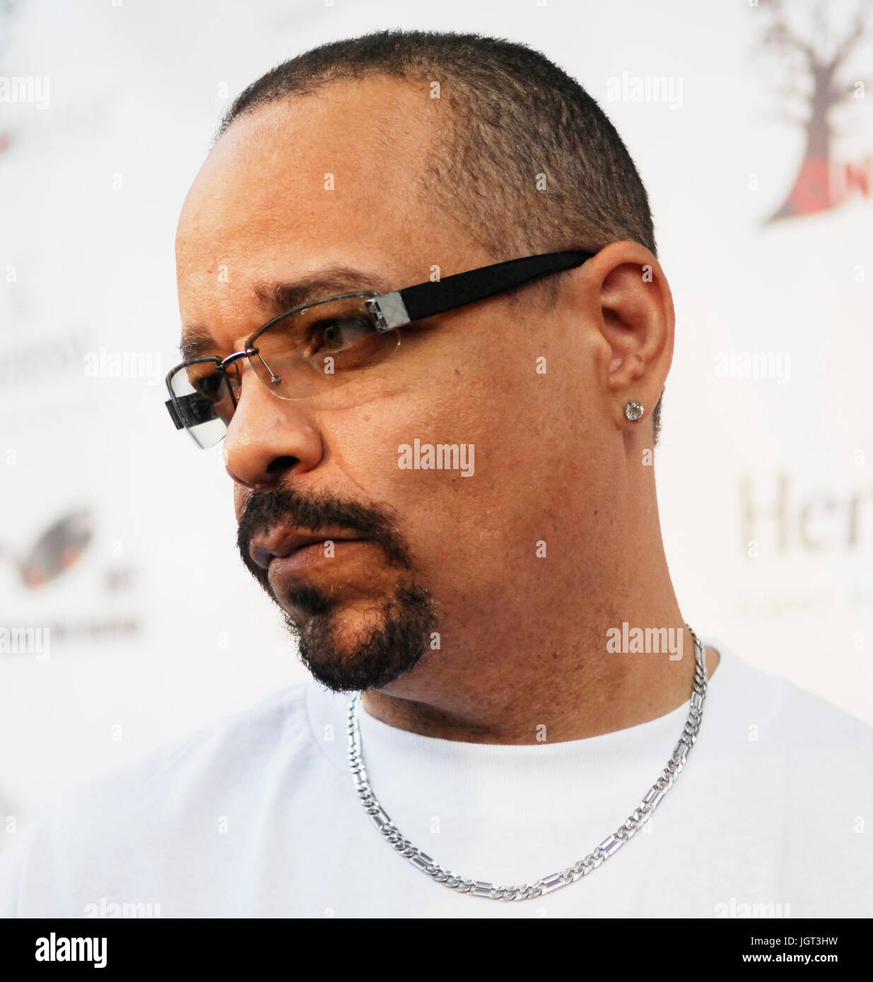 Actor/Rapper Ice-T attends 9th Annual Hollywood Black Film Festival Beverly Hills. - Stock Image
