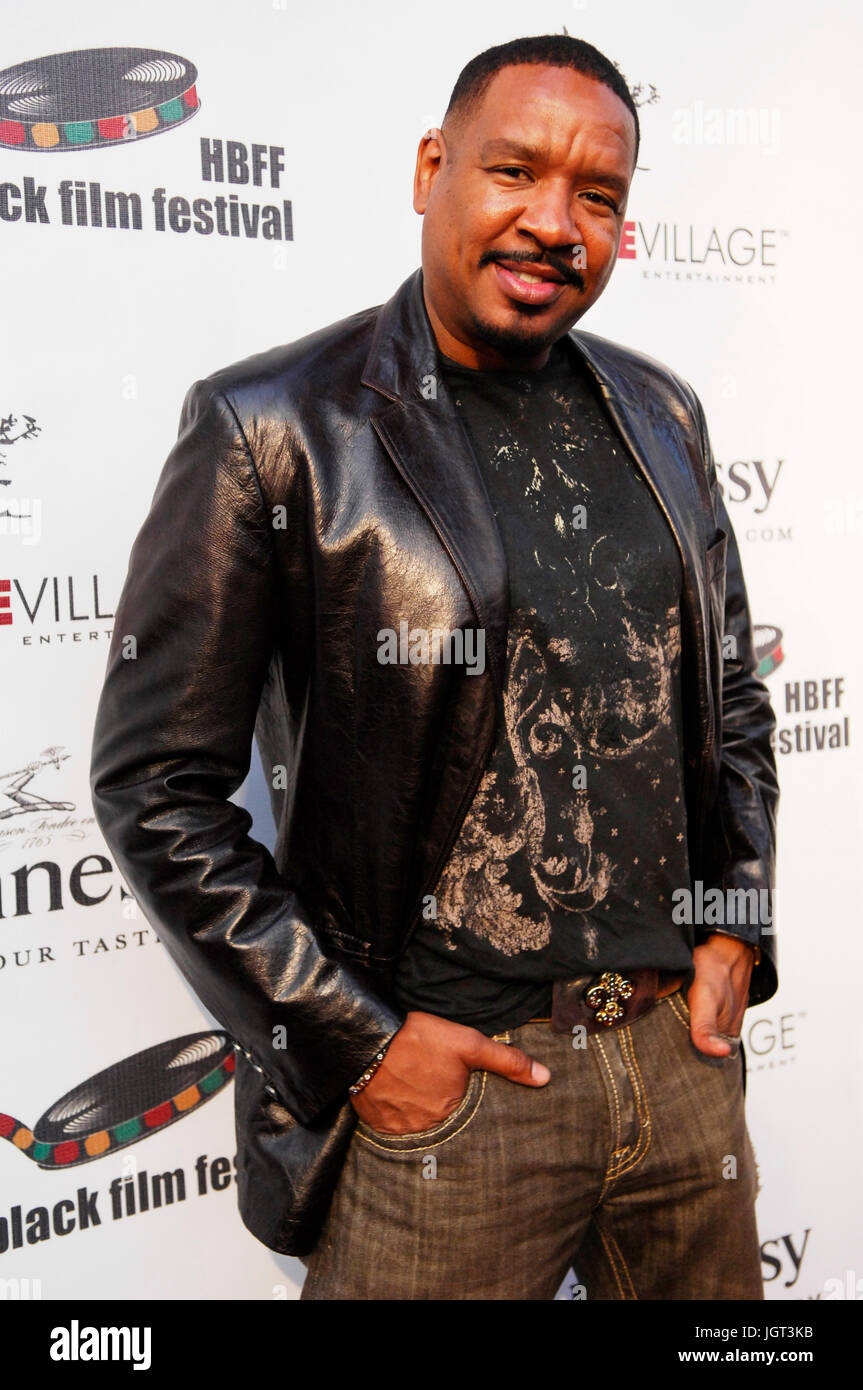 Actor Dorian Wilson attends 9th Annual Hollywood Black Film Festival Beverly Hills. - Stock Image