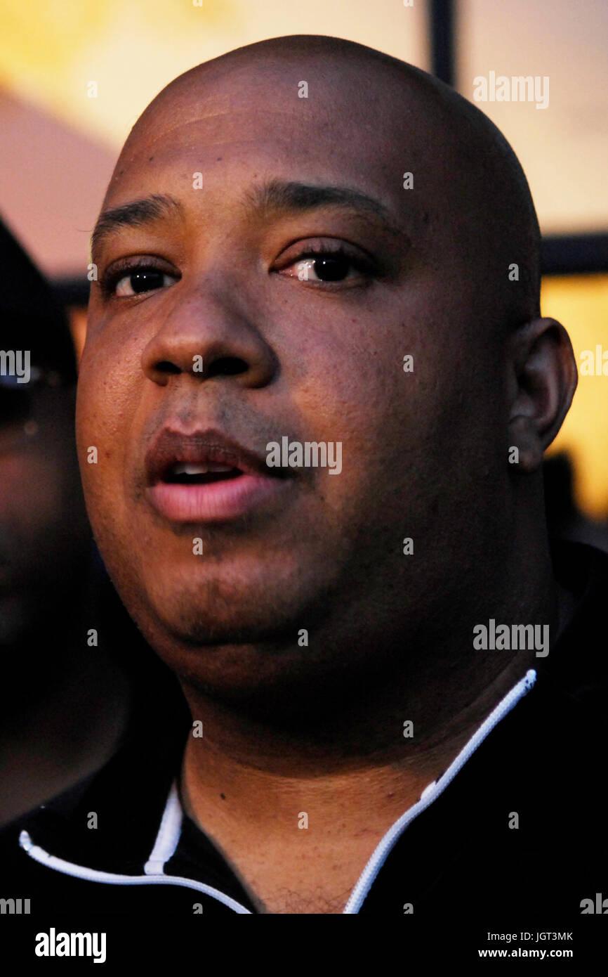 Joseph Simmons aka: 'Reverend Run' attends 9th Annual Hollywood Black Film Festival Beverly Hills. - Stock Image