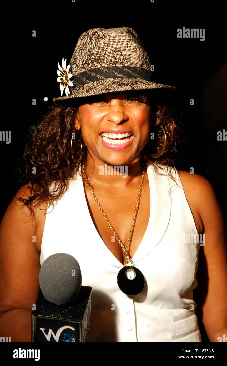 Rapper/Radio personality Yolanda Whittaker a.k.a. 'Yo Yo' attends 9th Annual Hollywood Black Film Festival - Stock Image