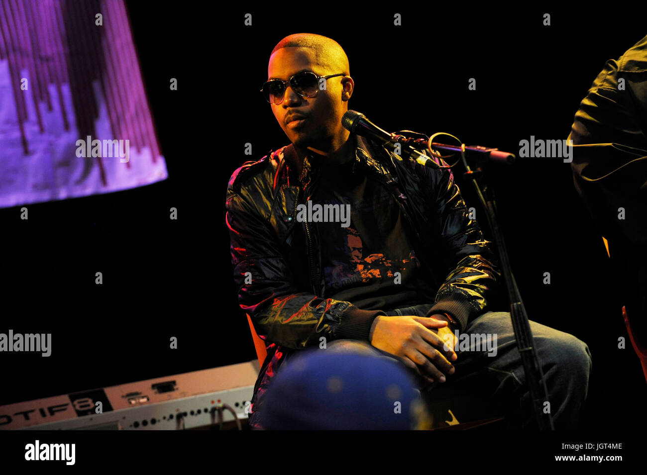 Nas BMI 'How I Wrote That Song' Panel House Blues Sunset West Hollywood. - Stock Image