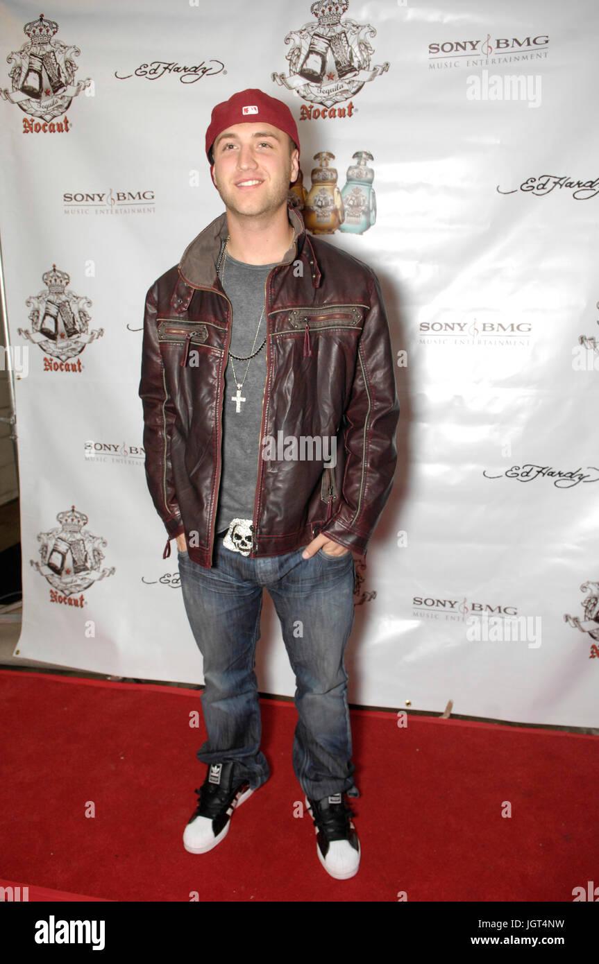 Nick Hogan attend Raz B's mixtape release party April 20,2010 Los Angeles,California. - Stock Image