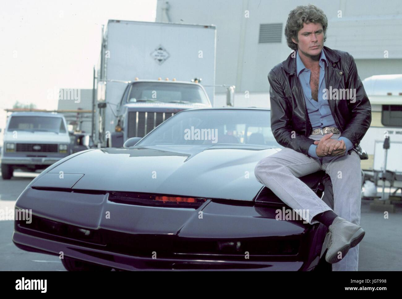 Knight Rider Car Stock Photos & Knight Rider Car Stock