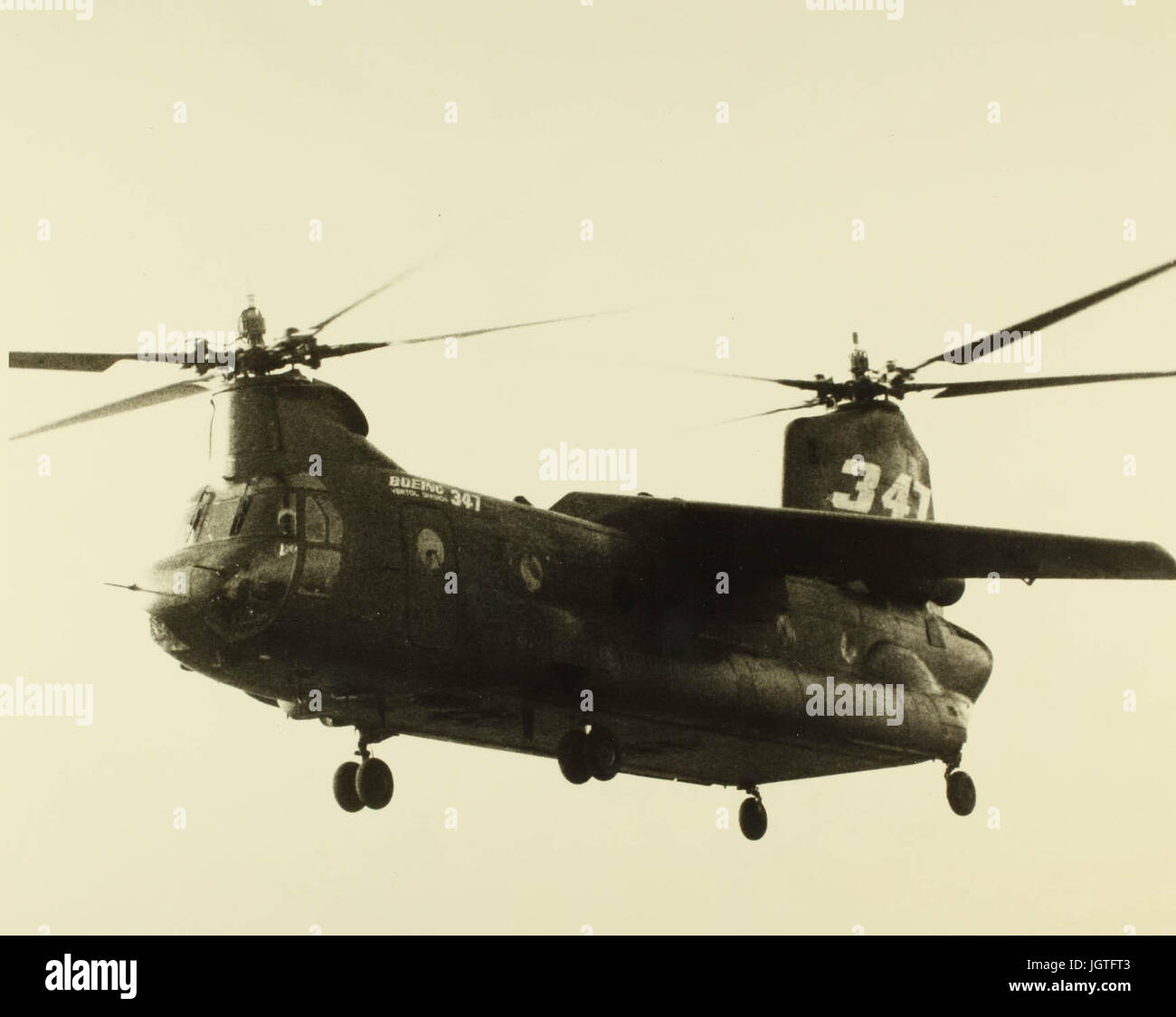 Boeing model 347 Advanced Technology Transport Helicopter NHHS Photo - Stock Image