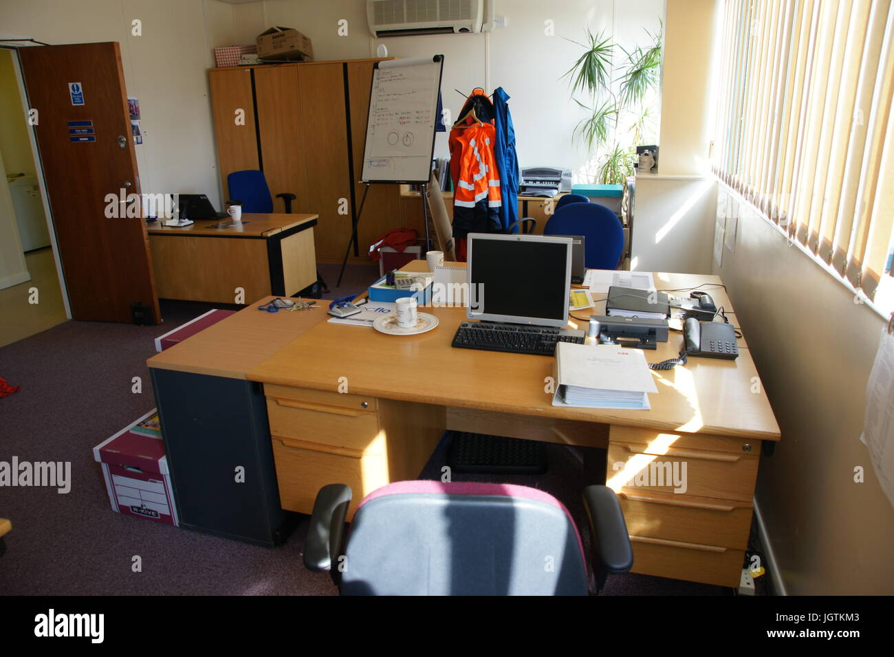 office, work environment Stock Photo