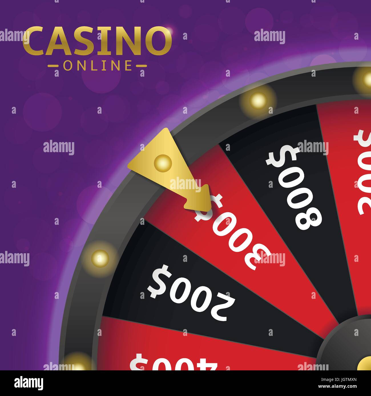 Wheel of fortune - Stock Vector