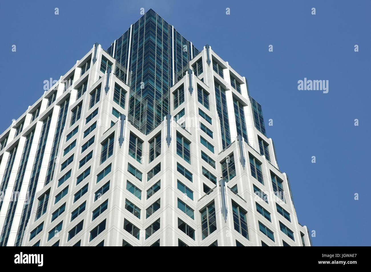 Modern deco architectural style stock photo alamy