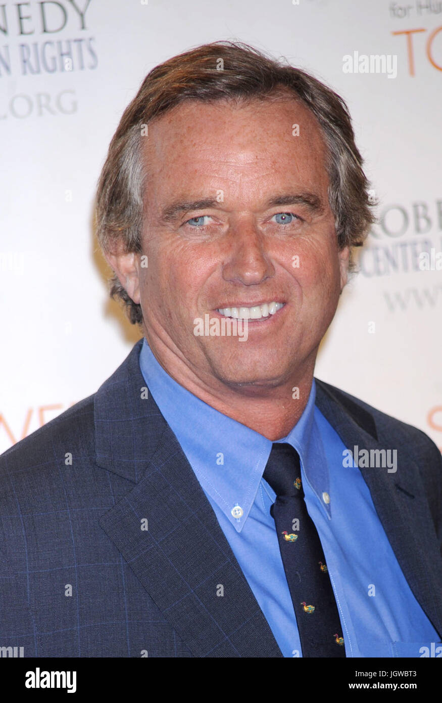 Robert F. Kennedy Jr. at the RFK Center Ripple of Hope Awards Dinner. Pier Sixty at Chelsea Piers in New York City. - Stock Image