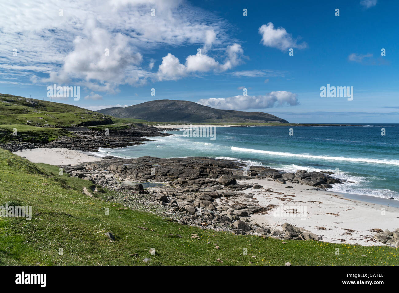 Hebridean Beach - Stock Image