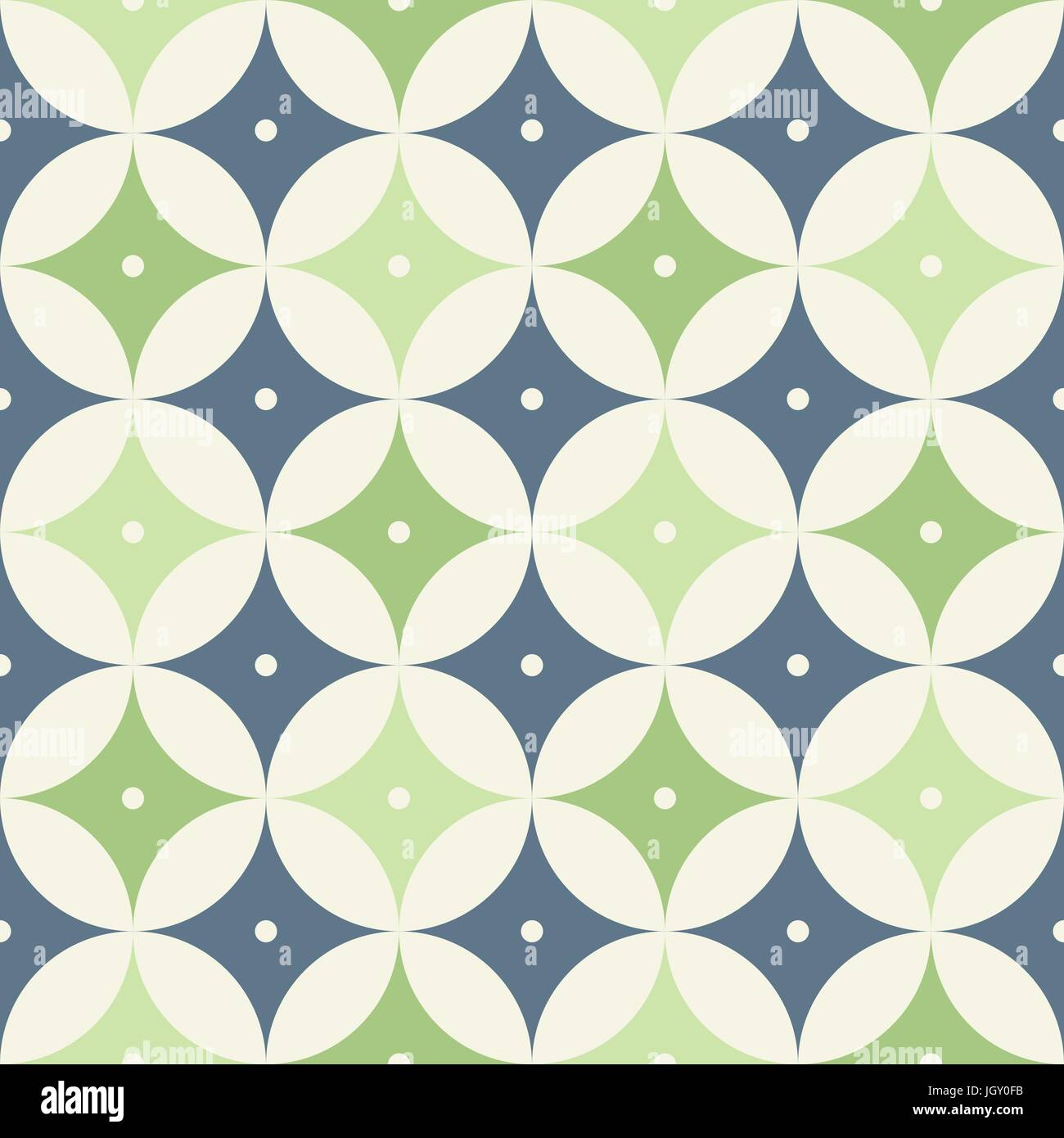 Mid Century Modern 1950s Style Vintage Retro Atomic Seamless Background Pattern Fully Editable Vector Illustration For Web And Print