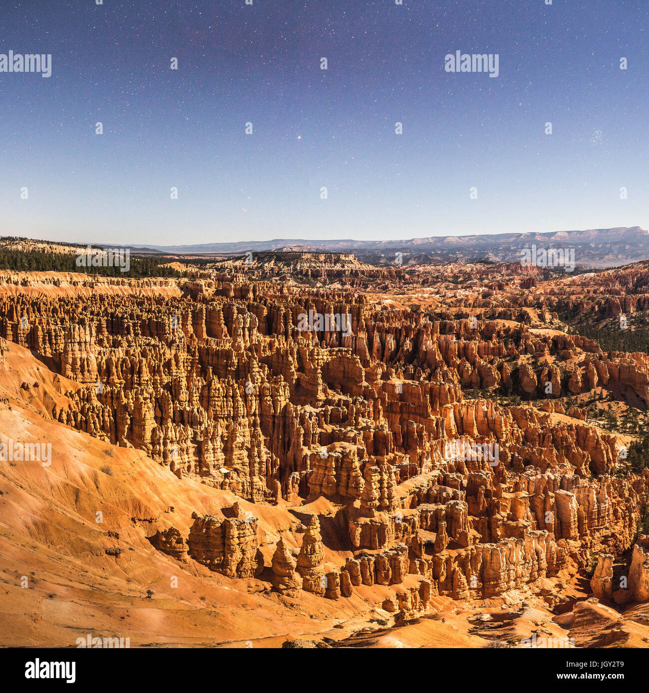 Bryce Canyon National Park, Bryce Canyon, Utah, USA - Stock Image