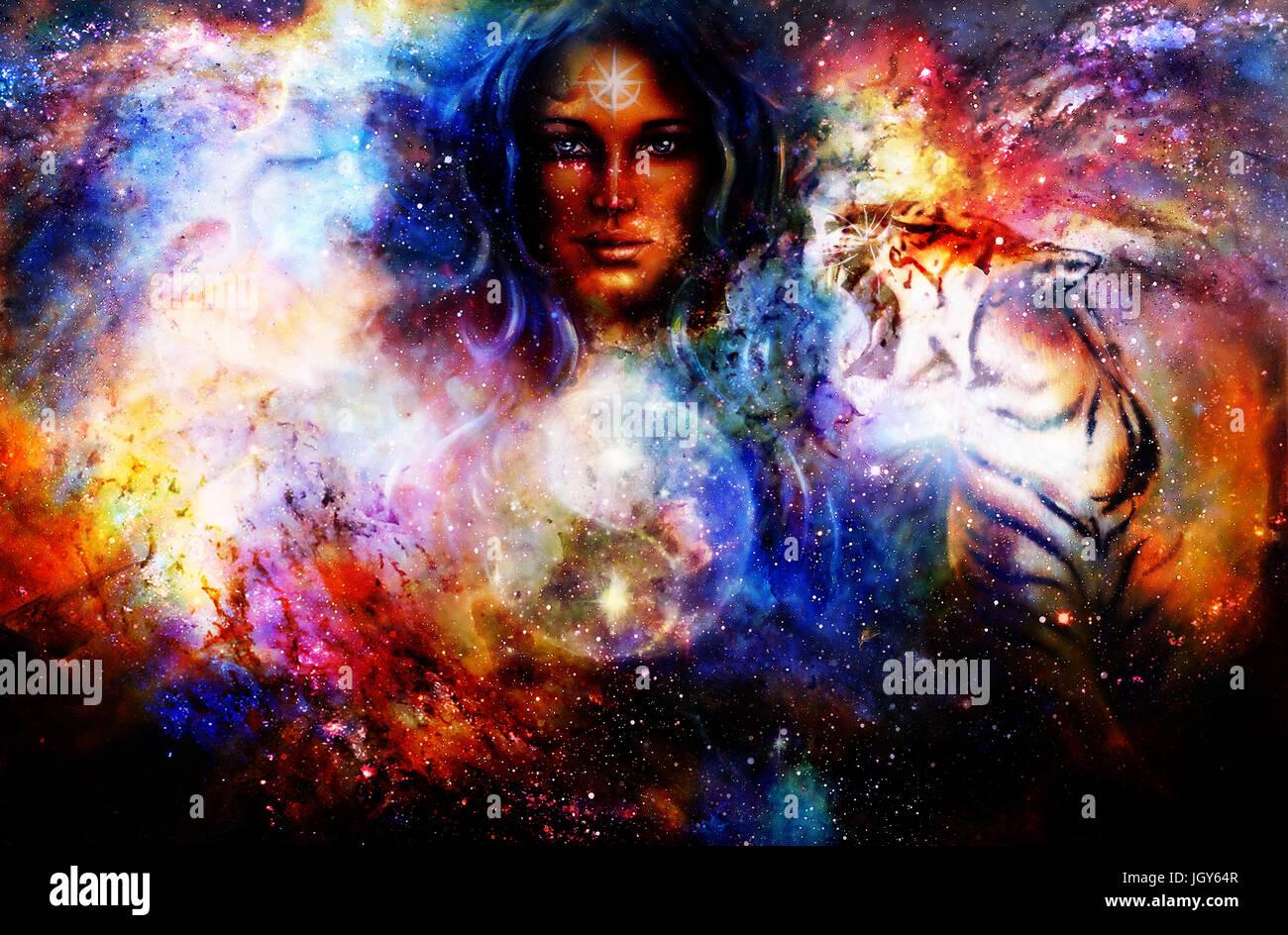 Woman as goddess