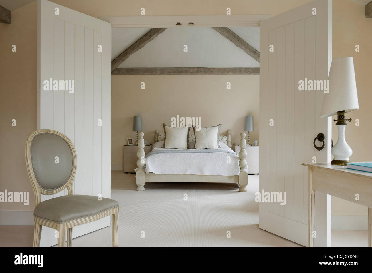 Camera Da Letto 4X4 double doors interior high resolution stock photography and