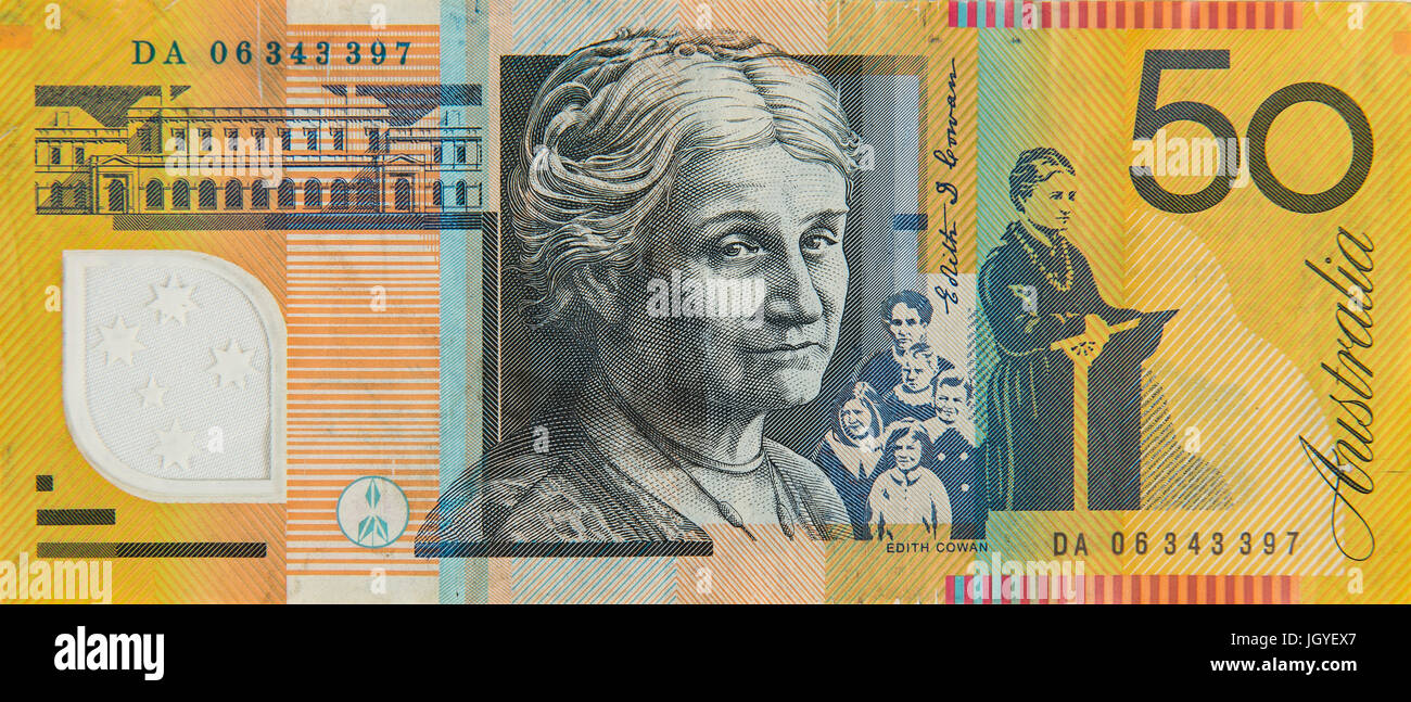 50 australian dollars Stock Photo: 148121855 - Alamy
