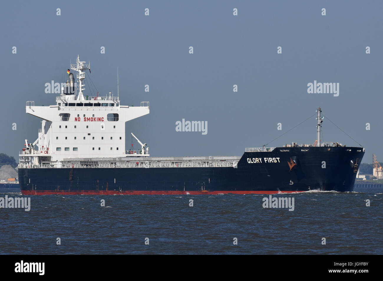 Bulkcarrier Glory First - Stock Image