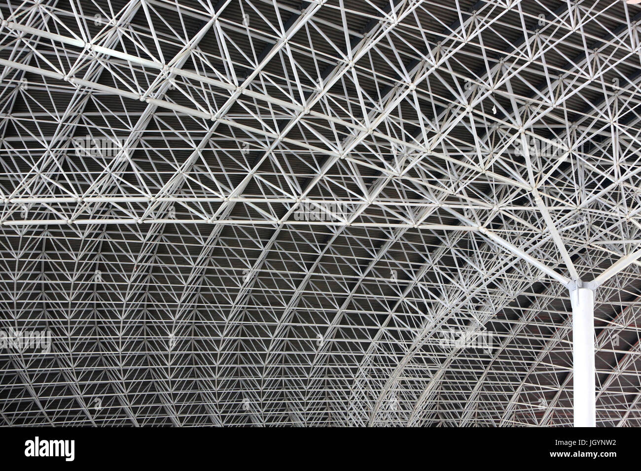The centre of the roof funnel. Ferrari World. 2010. Theme Park. Emirate of Abu Dhabi. - Stock Image