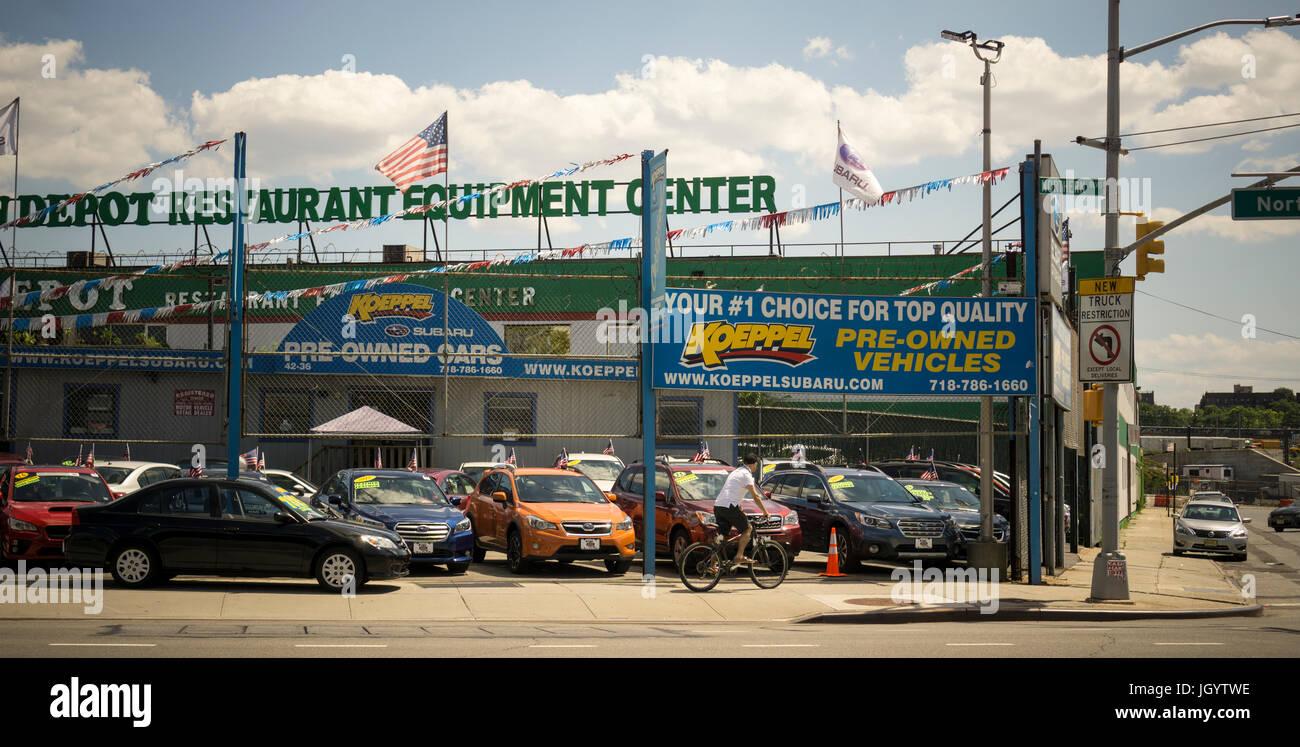 Used Cars Dealership >> A Dealer In Used Cars In The Woodside Neighborhood Of Queens
