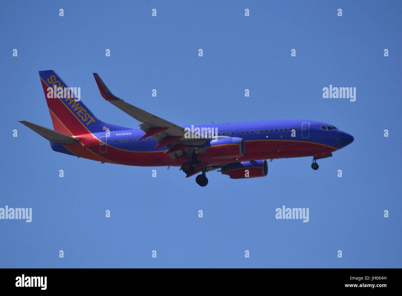 Southwest 737-700 Stock Photo