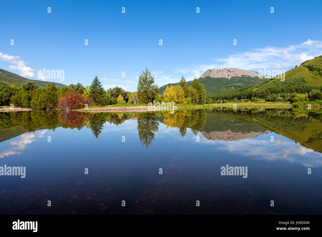 Arxan,Inner mongolia,China - Stock Image