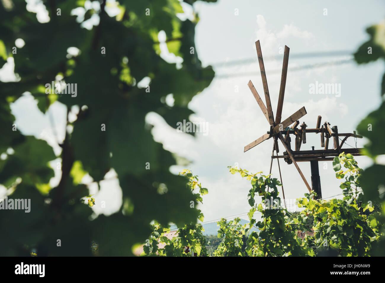 Klapotetz, südsteirische Weinstraße, Südsteiermark, Österreich - Stock Image