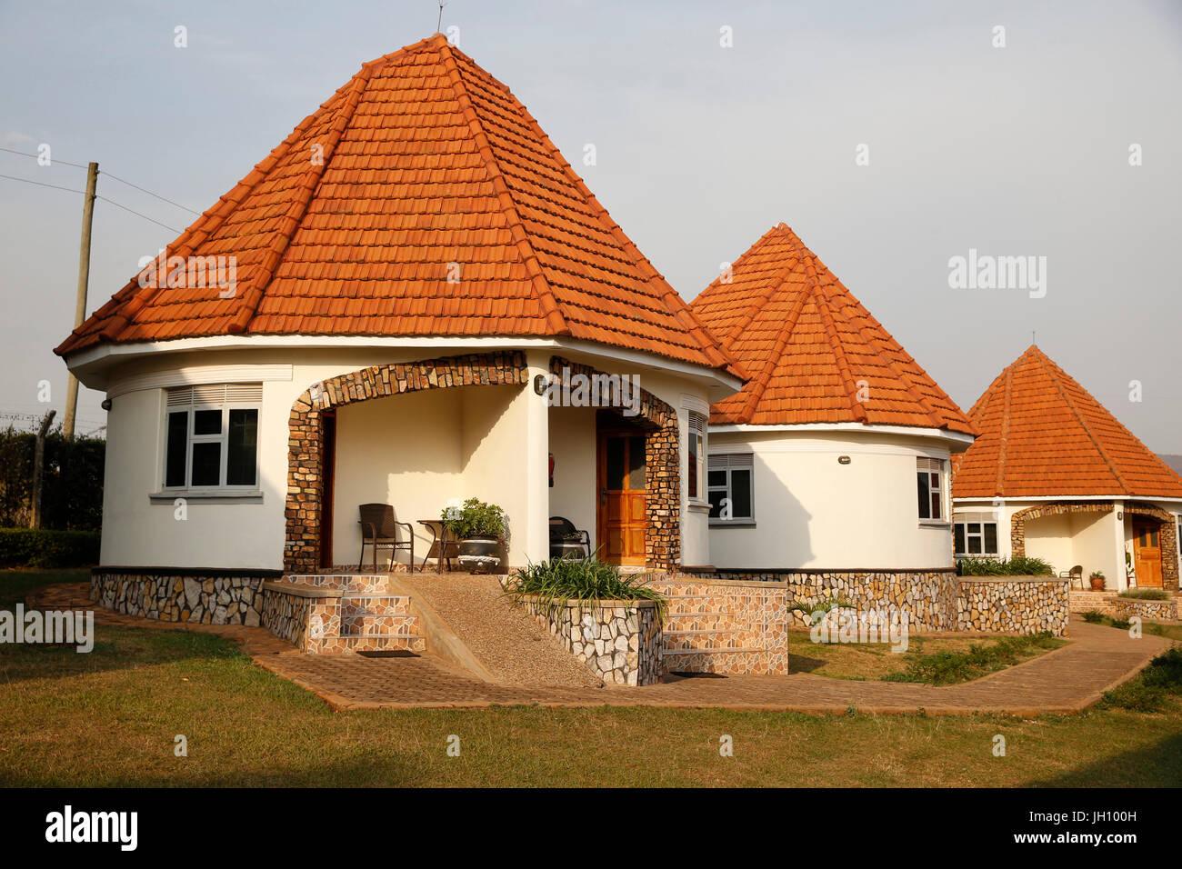 Hotel run by Kolping, a catholic NGO. Uganda. - Stock Image